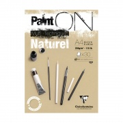 "Clairefontaine blok ""Paint On Natural"", A4 30ark. 250g /4"