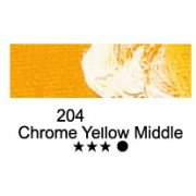 FARBA OLEJNA MARIE`S 50ml 204 CHROME YELLOW MIDDLE