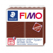 FIMO LEATHER EFFECT 57 g - ORZECHOWA