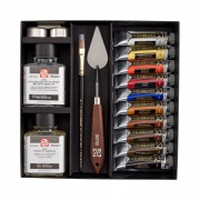 REMBRANDT OIL COLOUR SET REMBRANDT YEAR 10X15ML